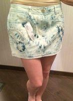 Мини юбка джинсовая, Италия