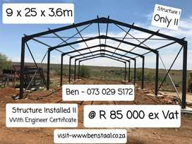 Steel Structure's / Staal Strukture