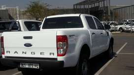 Ford Ranger XL, Double Cab, FSH, White, 43000km, one owner