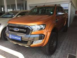 2016 Ford Ranger Double Cab selling for 459900