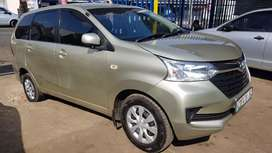Toyota Avanza 1.5 and good condition