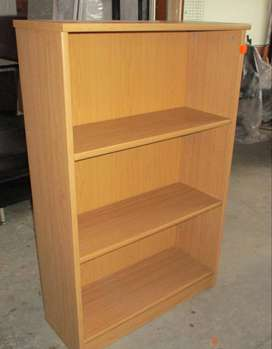 Oak 3 Tier Bookcase