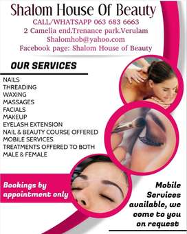 Nail and Beauty courses offered