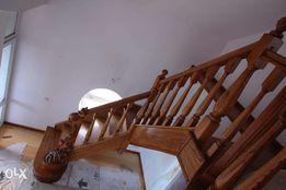 Сходи. Сходи дерев'яні. Оздоблення бетонних сходів деревом.