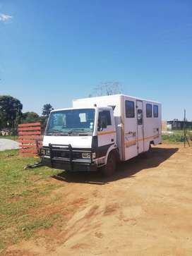 Tata truck with personnel carrier motor redone everything smooth