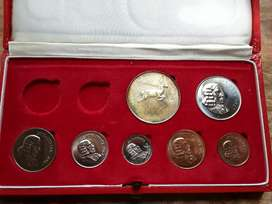 South african proof set.1967