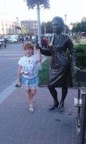 Летняя лёгкая джинсовая юбка с сумочкой