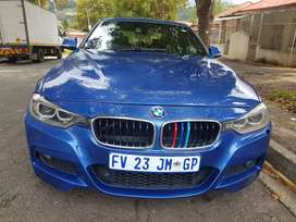2013 BMW 320d F30 Msport with Sunroof and leather seats