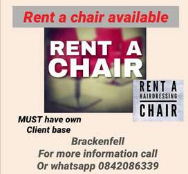 Rent a chair