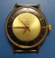 Часы наручные ЛУЧ винтаж позолоченные