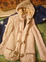 Продам зимний теплющий свитер-куртка