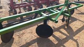 U Make Double Row 4 Disc Ridger with Roller