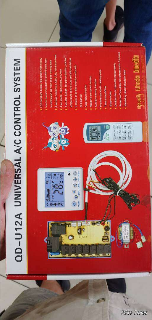 Universal A/C control system 0