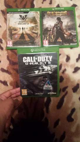 X BOX ONE GAMES .SWAP OR CASH