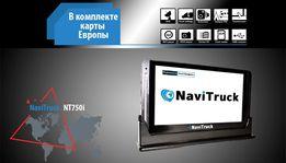 NaviTruck NT750i навигатор GPS android для грузового транспорта 2019