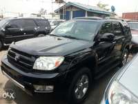 Foreign used 2005 Toyota 4runner. Limited edition. Direct tokunbo 0