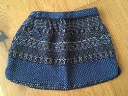 Zara spódnica spódniczka granatowa 8 lat / 128 cm
