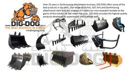 Earthmoving equipment attachments
