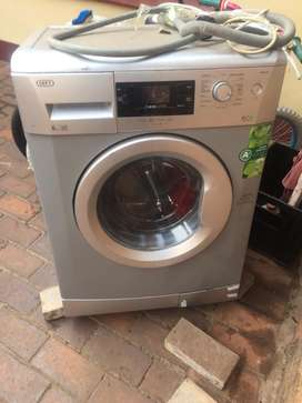 6kg front loader Defy automatic washing machine