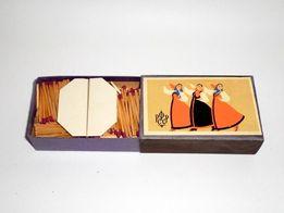 Спички. Спичечный набор 1957 года «Танцы народов СССР»
