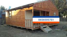 AFFORDABLE LOG HOMES AND WENDY HOUSES ON SPECIAL CALL/WHATSAPP