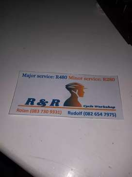 service any type of bikes