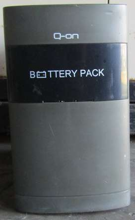 Q-On BB12 Battery Pack - Batteries EXCLUDED!
