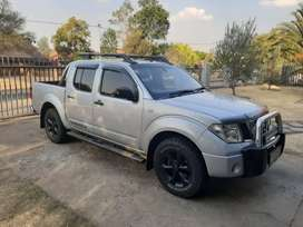 Nissan Navara with canopy