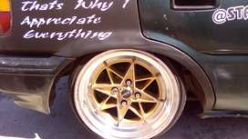 Rim without tyres 15inch