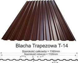 Blacha Trapezowa I gatunek !!! 19,00 zł m2
