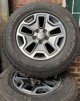 Rubicorn Jeep Rims and Tyres