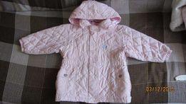 Продам розовую демисезонную куртку на рост 92-98 см