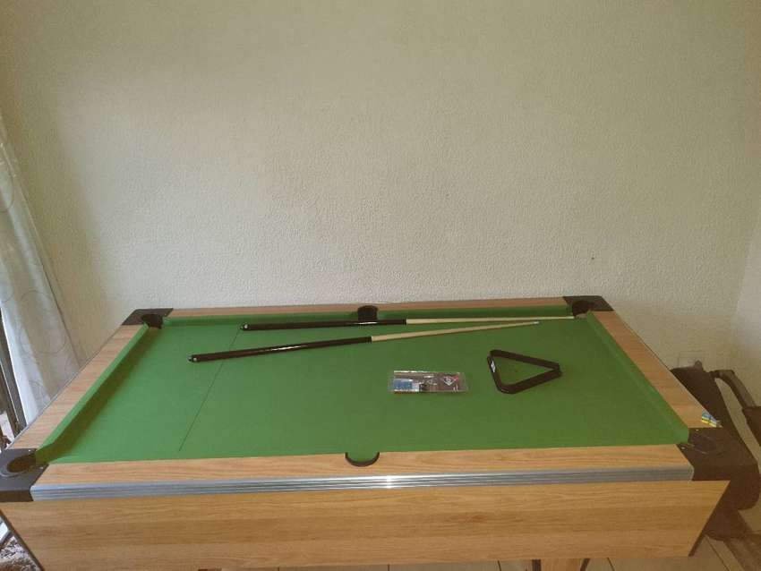 Pool Table (not coin operated) and accesories for sale 0