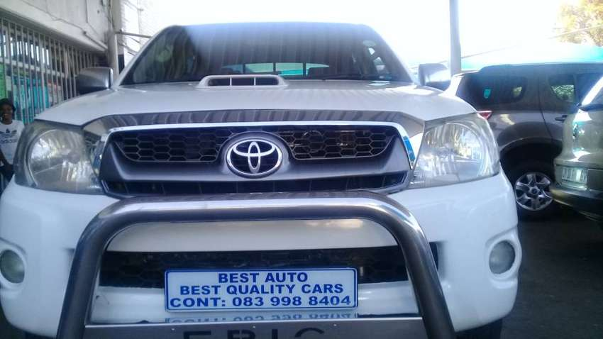 2010 Toyota Hi-lux 3.0 Engine Capacity Double Cab,D4D with Manuel Tran