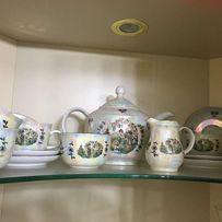 Сервиз чайный ГДР китаянки, гейши