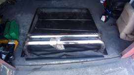 Toyota hilux double cab roll bar and tonneu cover set