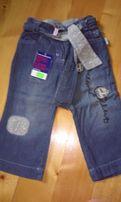 Spodnie cienki jeans na lato mariquita rozmiar 86 NOWE z metką