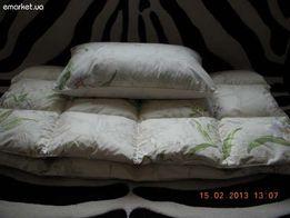 Чистка подушек и реставрация одеял в Донецке.