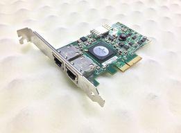 Сетевая карта Dell Broadcom | P/N: G218C | 5709 2-Port Gigabit |