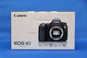 Canon eos 6D dslr camera with 24-105 IS STM Lens 0