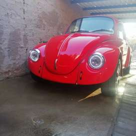 Red Volkswagen