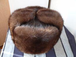 Шапка меховая мужская новая НОРКА. 58-59 размер