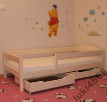 Детская и подростковая кровать из массива бука Мартель