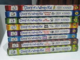 Diary of a Wimpy Kid series (first 8 books)