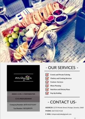 Chefery and Catering Services