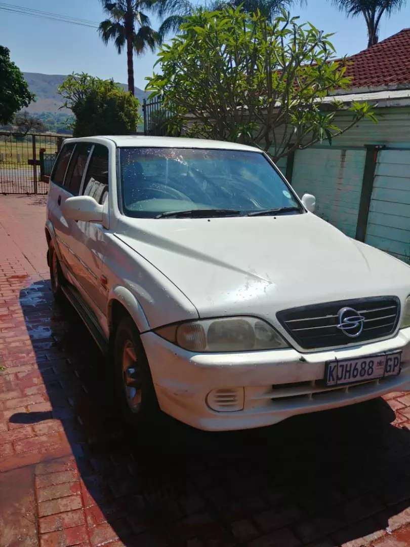 Ssangyong 2.8 diesel turbo 0