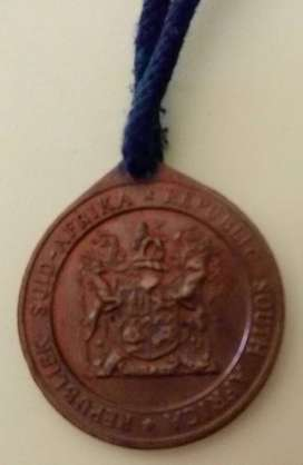 1961 South Africa medallion