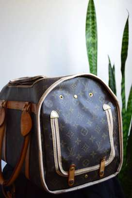 Louis Vuitton Pet Carrier. Second hand.Contact for Price
