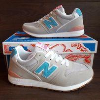 Женские кроссовки New Balance 996 (36-40) бежевые