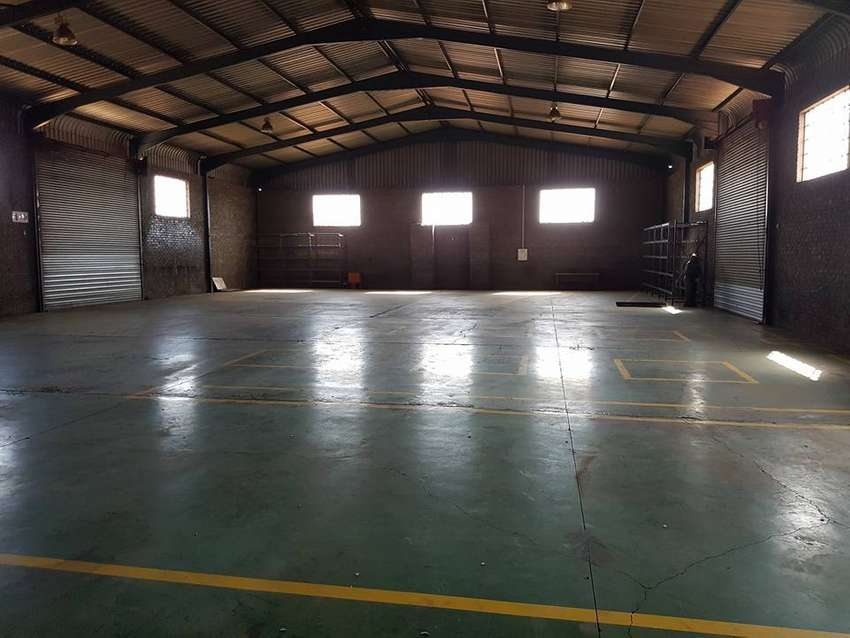 Factory, Warehouse, workshop to let on R 59 Hiway 0